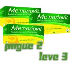 Combo Memoriovit 30 Cápsulas - Pague 2 Leve 3 - Macrophytus
